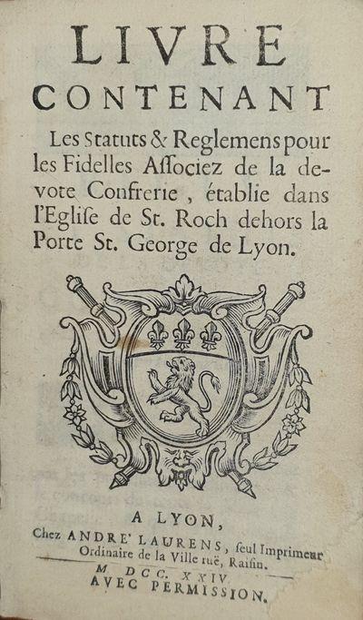 Livre Contenant Les Statuts &...