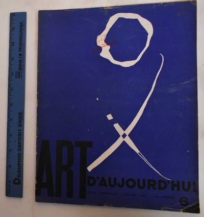 Paris: Art d'Aujourd'hui, 1950. Softcover. G, covers show heavy wear. Corners bumped and dog-earred....