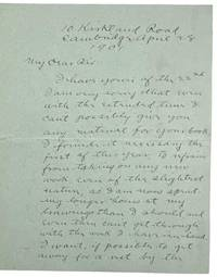 [Bradley, Will- Autograph Letter Signed] Will Bradley ALS  to Frank Chouteau Brown