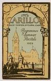 View Image 1 of 2 for The CARILLON. Peace Tower, Ottawa, Canada. Programmes of Summer Recitals 1929 Inventory #49182