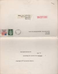 BIG STONED LEAF MONKEY BEZOAR - Vol. 10 - December 1977