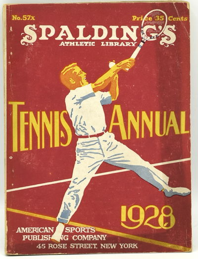 New York: American Sports Publishing Company, 1928. Original Wrappers. Very Good binding. 16mo.; in ...
