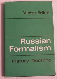 Russian Formalism: History, Doctrine