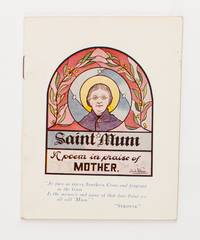 Saint Mum. A Poem in Praise of Mother... Republished from the 'Aussie' ..