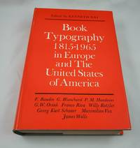 image of Book Typography 1815-1965. In Europe and the United States of America