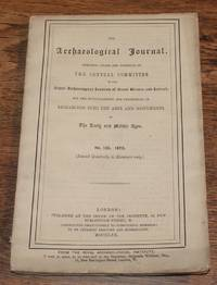 The Archaeological Journal, No. 106, June 1870, For Researches into the Early and Middle Ages