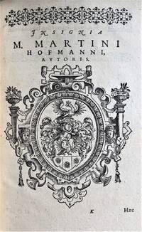 Urbs Bamberga, et Abbates Montis Monachorum prope Bambergam, elegiaco versu descripti