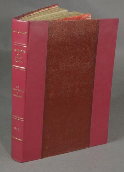 Paris: Société d' Éditions, 1924. First edition, 4to, pp. , 194; full-p. map, 44 photograph...