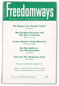 Freedomways: A Quarterly Review of the Negro Freedom Movement, Vol. 5, no. 4, Fall, 1965