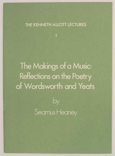 Liverpool: University of Liverpool, 1978. First edition. Softcover. Text of a lecture from the winne...