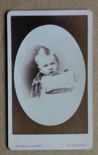 Carte De Visite Photograph: Portrait of a Young Child.