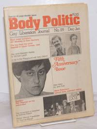 The Body Politic: gay liberation journal; #29 Dec-Jan 1976/77; New Fiction by Jane Rule