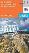 Dumfries and Dalbeattie (OS Explorer Active Map)