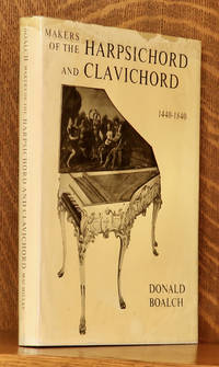 image of MAKERS OF THE HARPSICHORD AND CLAVICHORD 1440 TO 1840