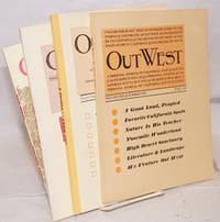 image of Out West; A personal journal of California as it is, as it was, as we hope it will be. Volume One Number One, Fall 1966 [with] Volume Three, October 1968, Volume Four October 1969, Volume Seven October 1972 [four unduplicated nos. as a small lot]