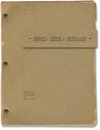 Merry, Merry, Marriage (Original screenplay for an unproduced film, with annotations by Loos throughout)