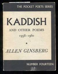 image of Kaddish and Other Poems, 1958-1960