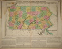 (Map of Pennsylvania):  Geographical, Statistical, and Historical Map of Pennsylvania