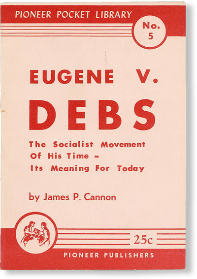 New York: Pioneer Publishers, 1956. Paperback. Edition and printing not stated. 12mo. Stape-bound pa...