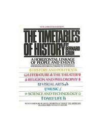 image of The Timetables of History
