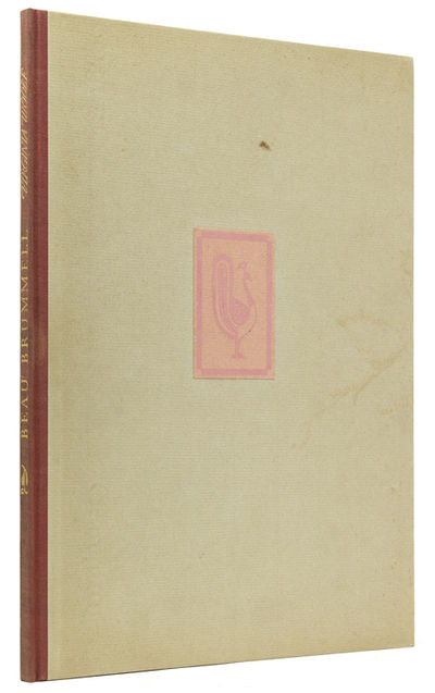 New York: , published by Rimington & Hooper at 21 East 54th Street, 1930. No. 383 of 550 copies, sig...