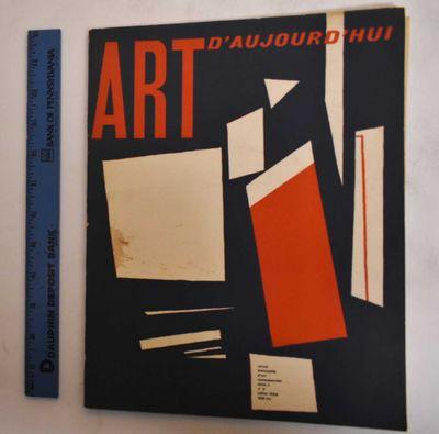 Paris: Art d'Aujourd'hui, 1953. Softcover. G+/VG-, slight wear along edges, rubbing on covers; front...