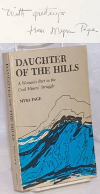 image of Daughter of the Hills: A Woman's Part in the Coal Miner's Struggle