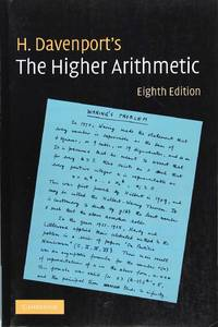 The Higher Arithmetic: An Introduction to the Theory of Numbers (Eighth Edition)
