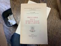 Amour et Mariage dans la Litterature Francaise du Nord au Moyen-Age
