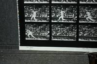 "CARL MICHAEL YASTRZEMSKI BASEBALL ACTION SHOT SERIES OF 16 IMAGES ON 40 X  28"" PHOTO SHEET [SIGNED]"