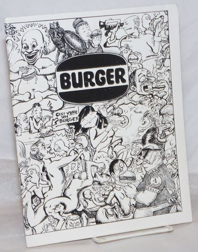 Brooklyn: Burger, 1994. Magazine. 49p., stapled wraps, 7.75x10 inches, chiefly illus., pages lightly...
