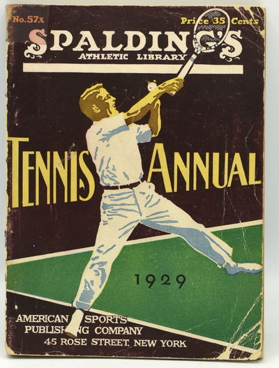 New York: American Sports Publishing Company, 1929. Original Wrappers. Very Good binding. 16mo.; in ...
