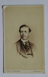 Carte De Visite Photographs. Portrait of a Young Man.