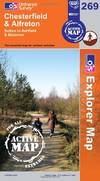 image of Chesterfield and Alfreton (OS Explorer Map Active)