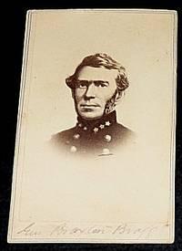 Confederate General Braxton Bragg - Carte de Visite