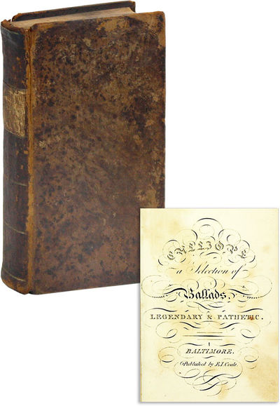 Baltimore: Edward J. Coale, 1814. First Thus. 16mo (13.5cm.); publisher's mottled sheep, tan gilt sp...
