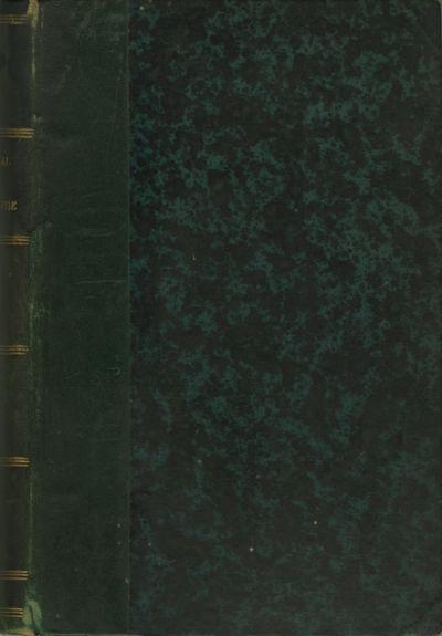 Paris: Gauthier-Villars, 1881. First edition. Small 8vo., xiv, 246 pp., photoglyptie (Woodburytype) ...