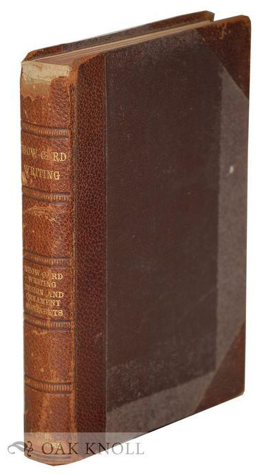 Scranton, PA: International Textbook Company, 1903. original half leather over pebbled cloth covered...