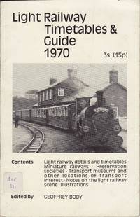 Light Railway Timetables & Guide 1970