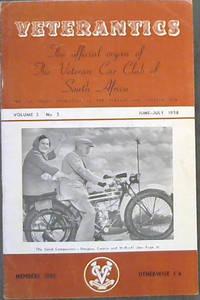 Veterantics: The official organ of The Veteran Car Club of South Africa