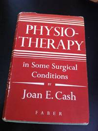Physiotherapy in some surgical conditions