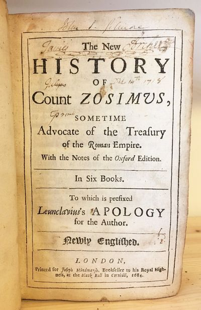 The New History of Count Zosimus,