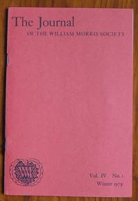 The Journal of the William Morris Society Volume IV Number 1 Winter 1979