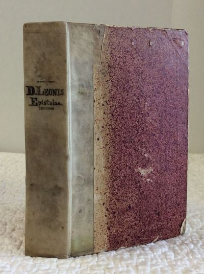Cologne: Melchioris Nouesiani, 1548. Hardcover. Vellum backed marbled boards. 4