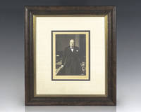 Winston S. Churchill Signed Photograph.