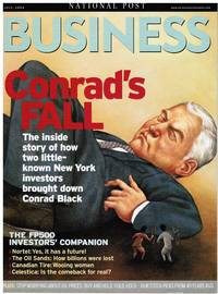 image of NATIONAL POST BUSINESS: THE FALL OF CONRAD BLACK