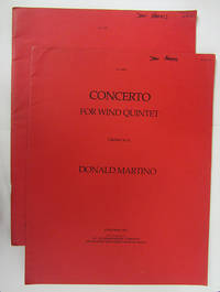 Concerto for Woodwind Quintet.
