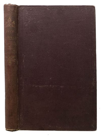 New York: D. Appleton & Co, 1869. 1st Edition in English (Cf. Sabin 27184). Not in Wolff. Maroon clo...