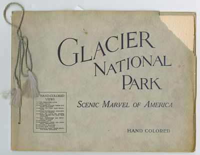 Brooklyn: Published for Glacier Park Hotel Co. by the Albertype Co., 1920. 12 unnumbered leaves with...