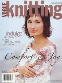 VOGUE KNITTING INTERNATIONAL : COMFORT & JOY : Holiday 2003 (Vol 21, No 3)